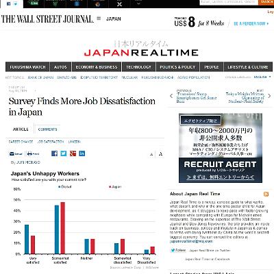 「日本人は仕事に不満」報道はミスリード? 「そこそこ満足」が48%で一番多い